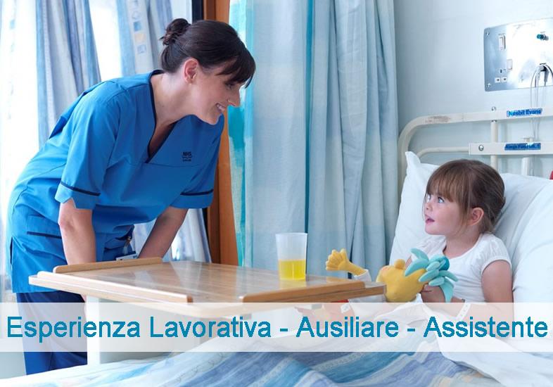 Esperienza Lavorativa - Ausiliare - Assistente